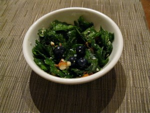 Kale & Blueberry Salad